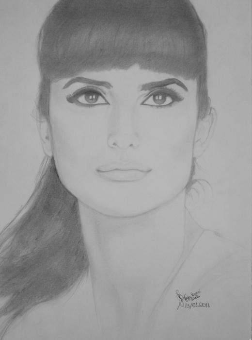 Penelope Cruz by JoyceTirolli